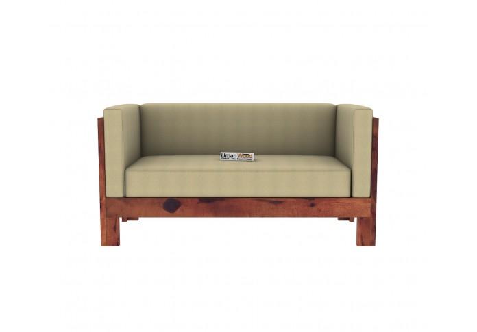 Fitbit Wooden Sofa Set 3+2+1+1 Seater (Teak Finish)