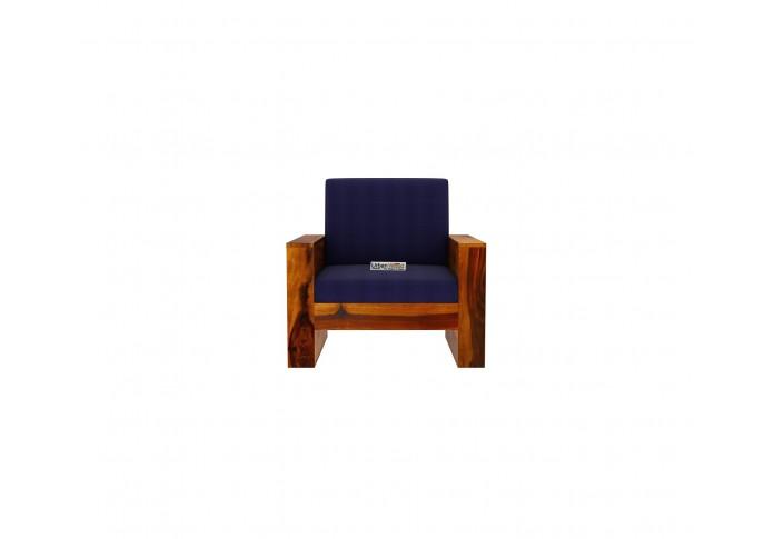 Modway Wooden Sofa set 3+2+1+1 seater <small>(Honey Finish)</small>