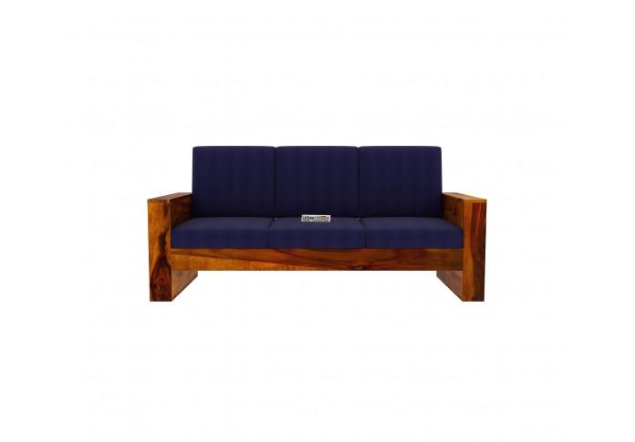 Modway Wooden Sofa Set 3+2 seater <small>(Honey Finish)</small>