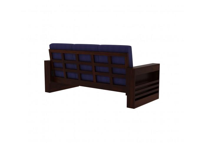 Modway Wooden Sofa Set 3+2 seater <small>(Walnut Finish)</small>