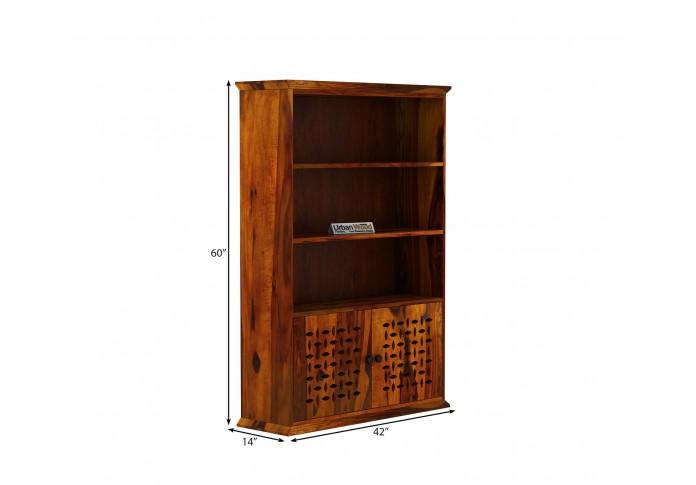 Beverly Book Shelves (Honey Finish)