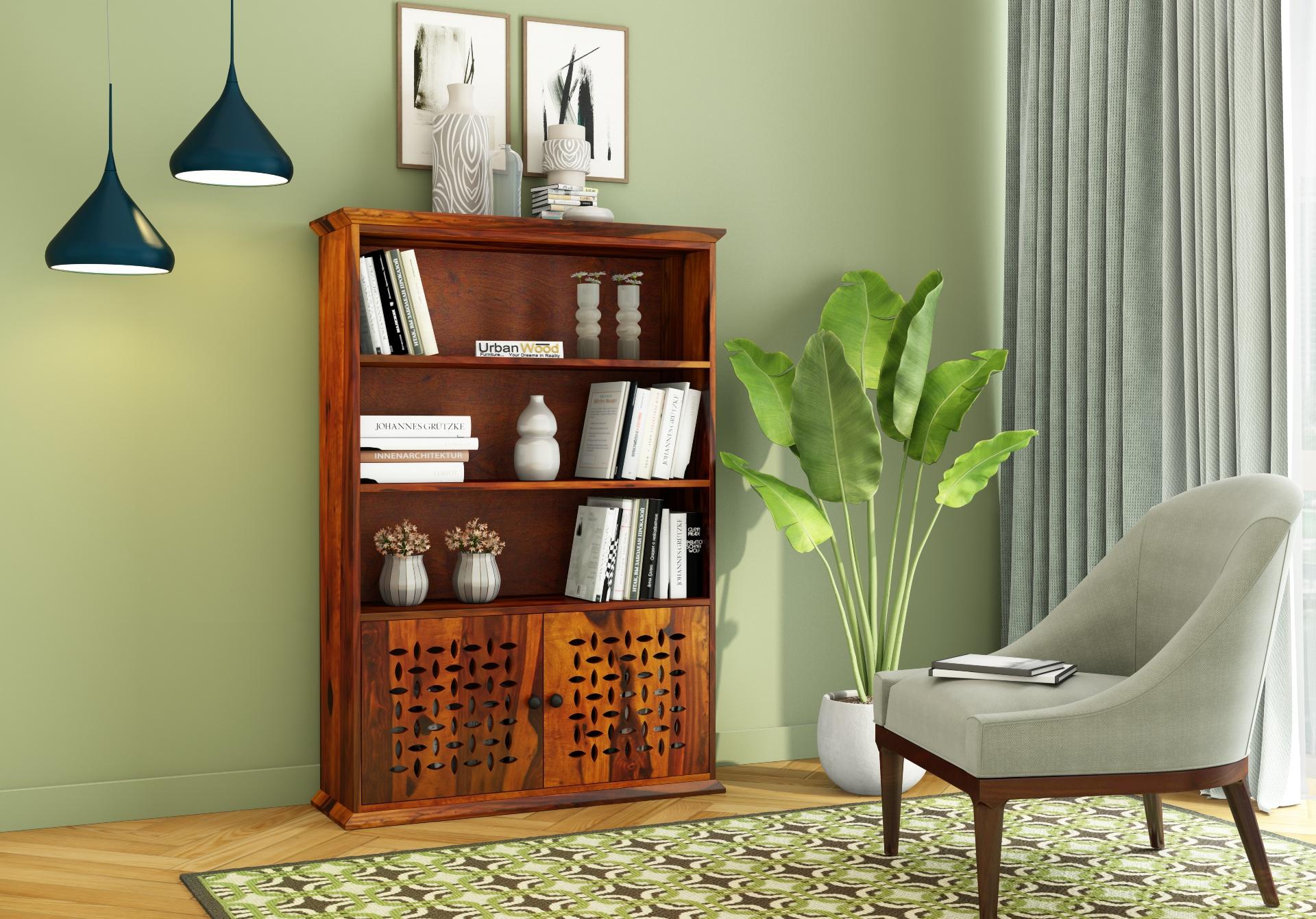 Beverly Book Shelves <small>(Honey Finish)</small>