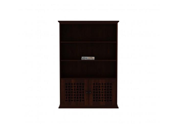 Beverly Book Shelves ( Walnut Finish)