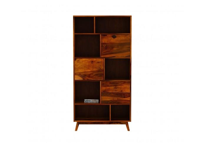 Busk Bookshelf ( Honey Finish )
