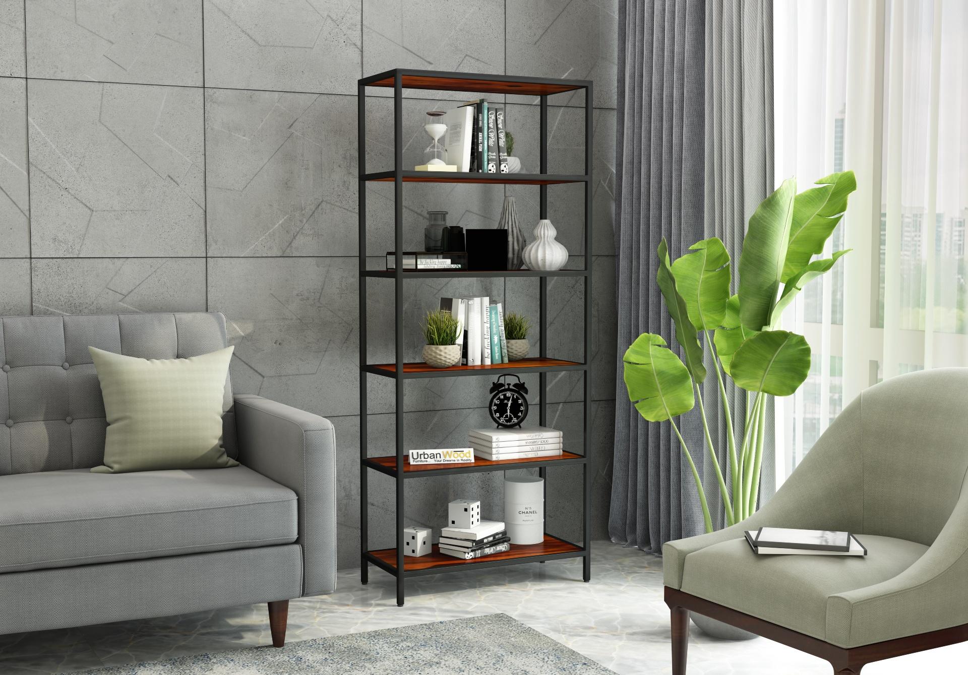 EagleEye Book Shelves <small>( Honey Finish )</small>
