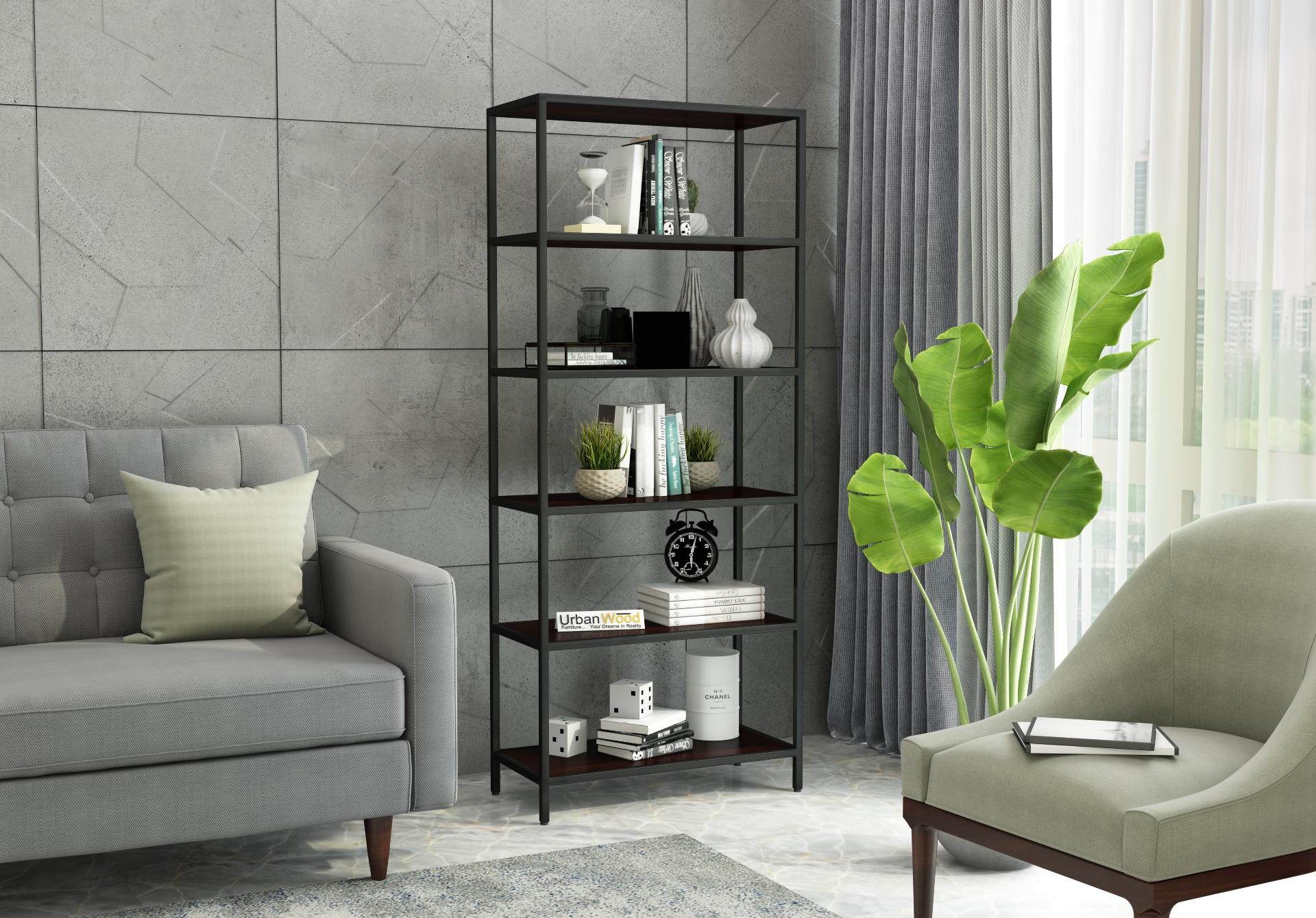 EagleEye Book Shelves <small>( Walnut Finish )</small>