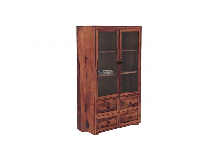 Woozoid Book Shelves ( Teak Finish)