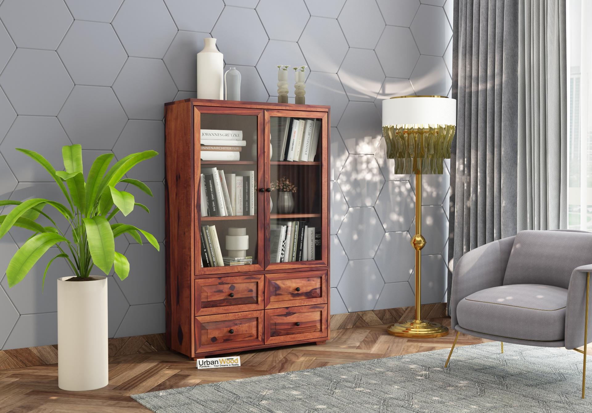 Woozoid Book Shelves <small>( Teak Finish)</small>