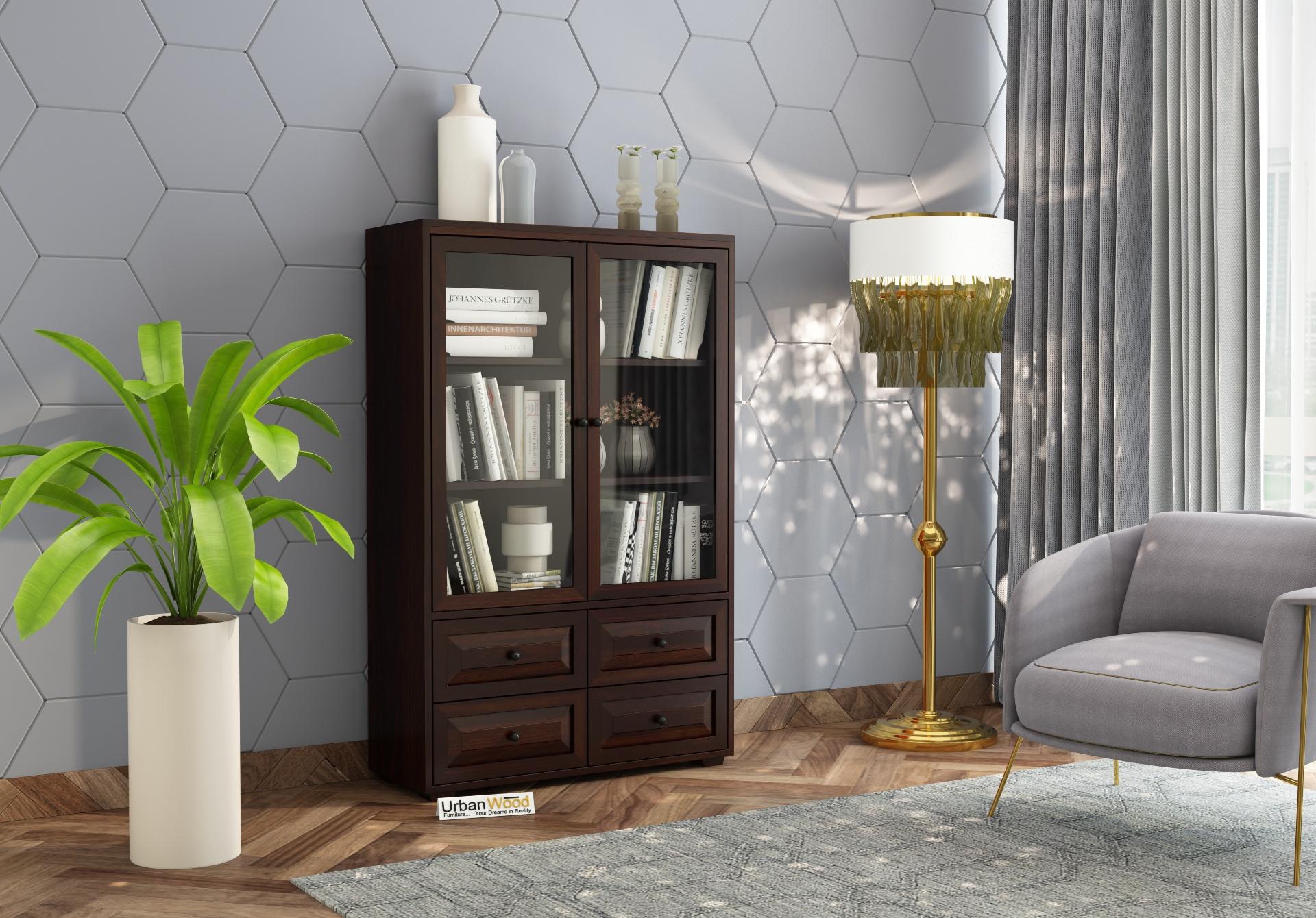 Woozoid Book Shelves <small>( Walnut Finish)</small>
