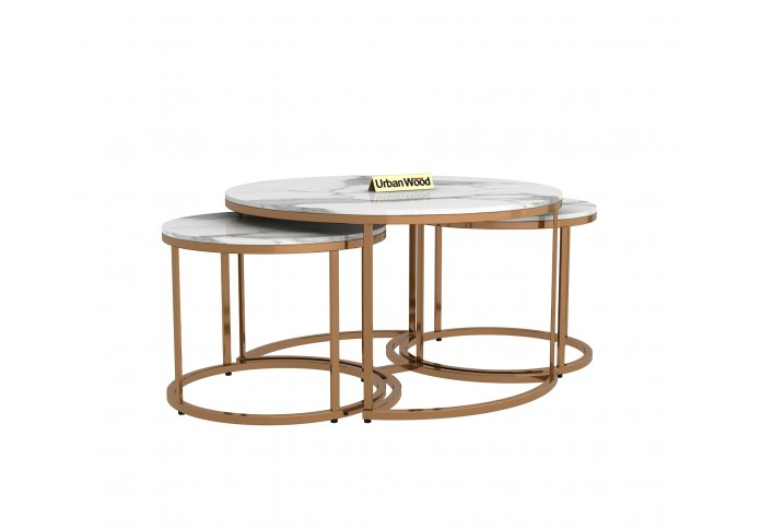Grove Centre Coffee Table <small>( Marble, Metal )</small>