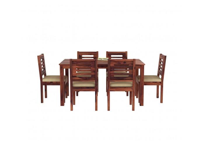 Brownbell Dining Table Sets ( Teak Finish )