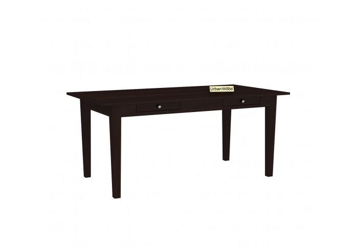Mystic Dining Table Sets ( Walnut Finish )