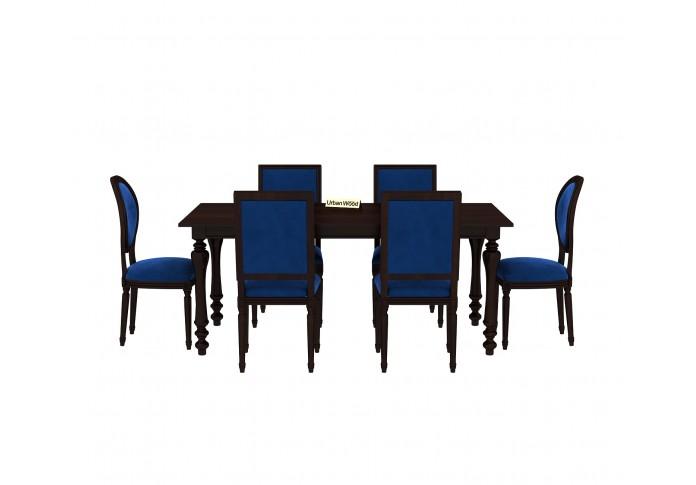 Woodit Dining Table Sets ( Walnut Finish )