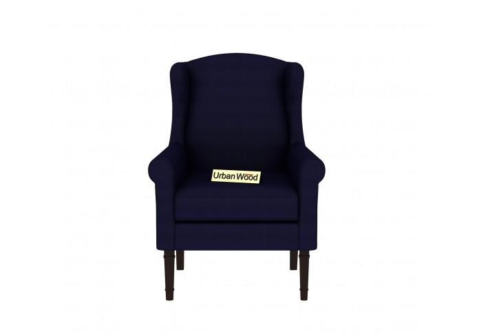 Birdie Lounge Chairs ( Fabric, Navy Blue )