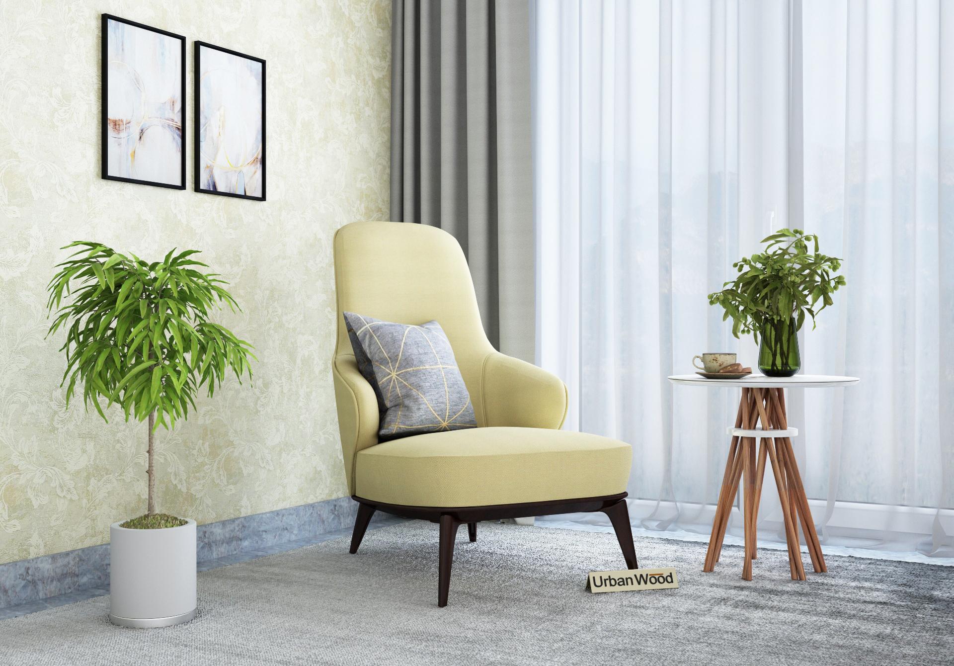Fascia Lounge Chairs <small>( Fabric, Sepia Cream )</small>