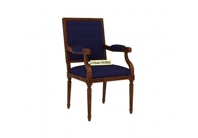 Armado Arm Chair ( Cotton, Navy Blue )