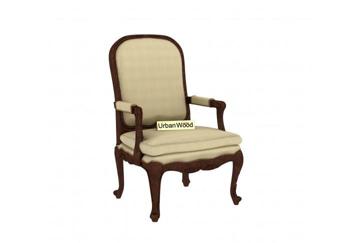 Avenue  Arm Chair ( Cotton, Sepia Cream )