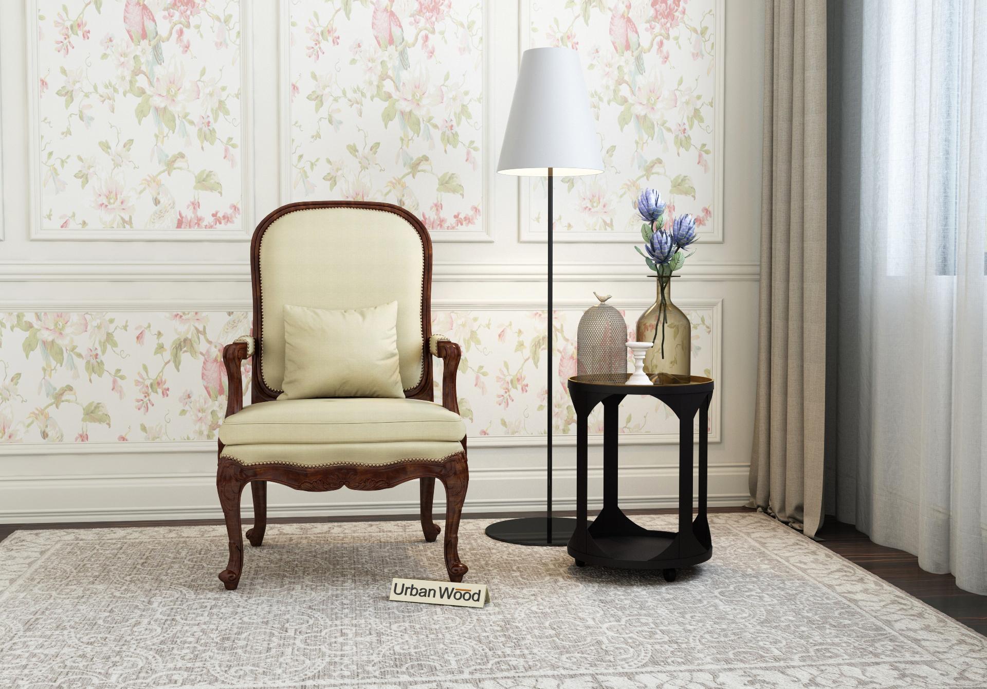 Avenue  Arm Chair <small>( Cotton, Sepia Cream )</small>