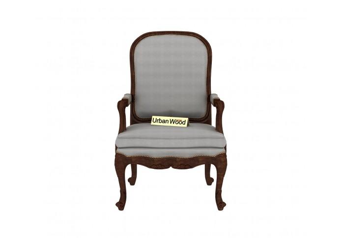 Avenue  Arm Chair ( Cotton, Steel Grey )