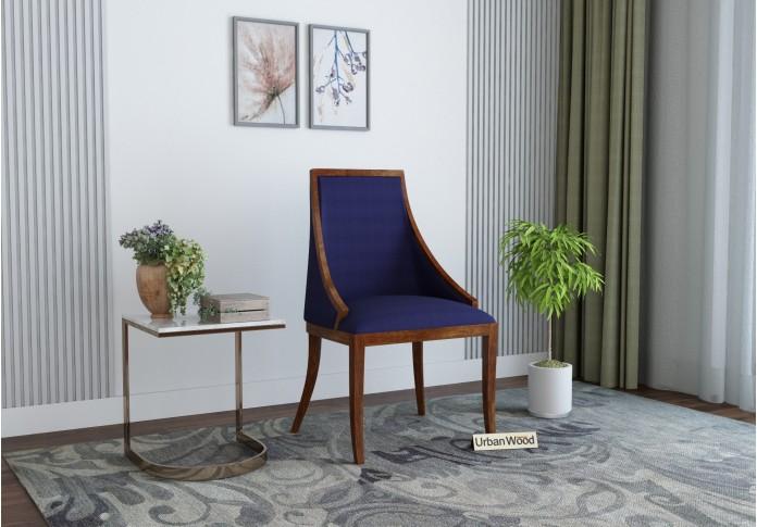 Shore Arm Chair ( Cotton, Navy Blue )