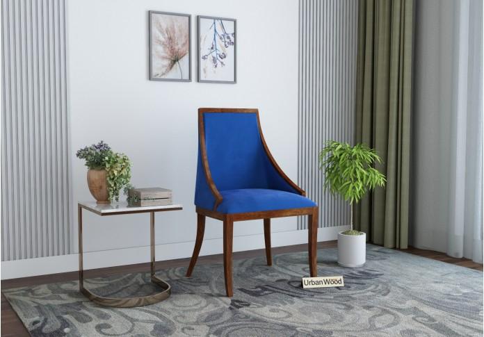 Shore Arm Chair <small>( Velvet , Sapphire Blue )</small>