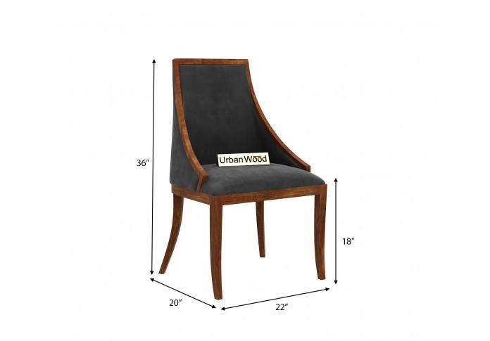 Shore Arm Chair <small>( Velvet, Stone Grey )</small>