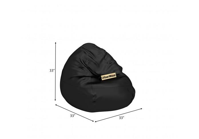 Corn XXL Jet Black Bean bag