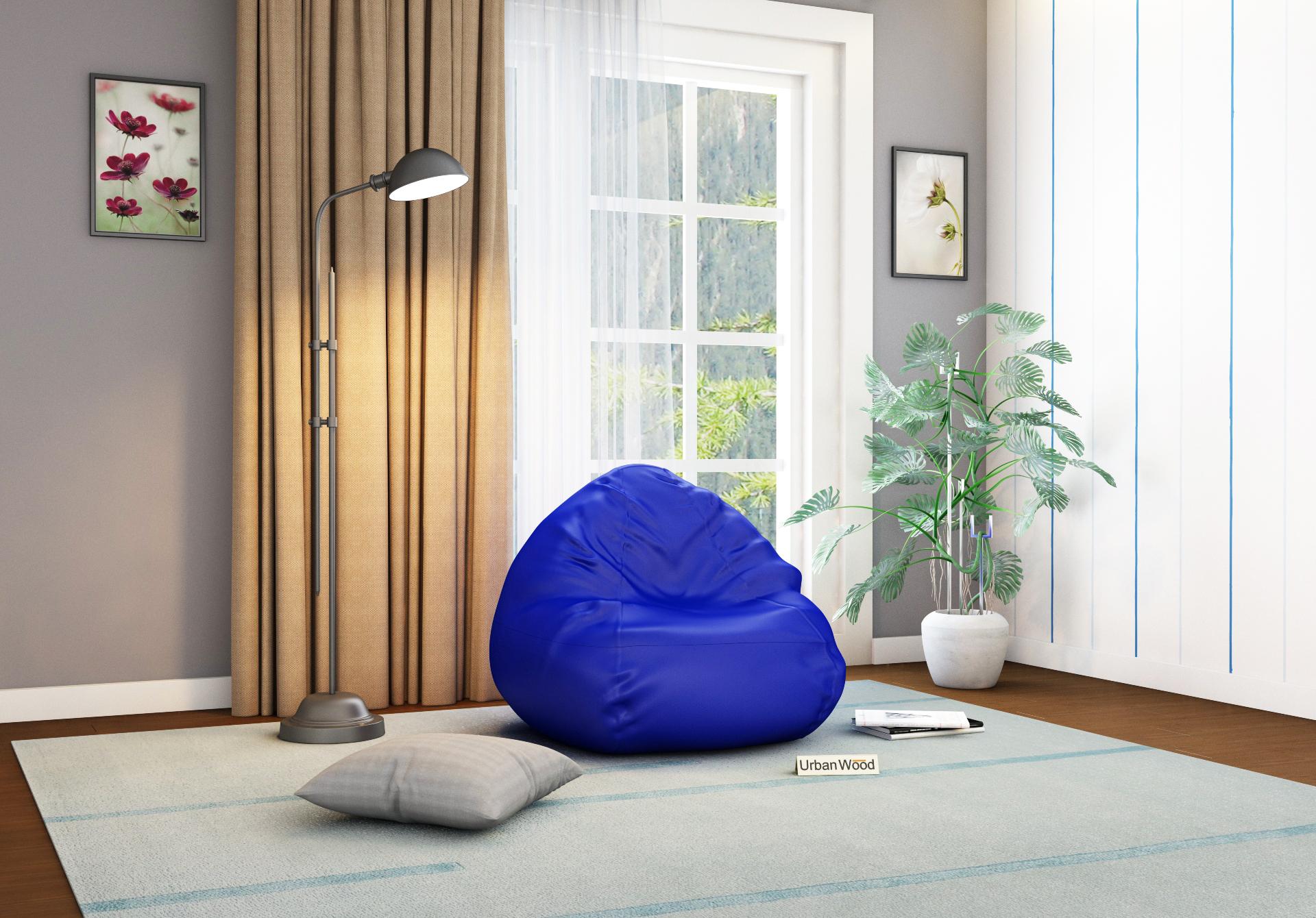 Corn XXL Lapis Blue Bean bag