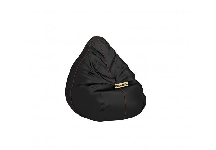 Hillbean XXXL Jet Black Bean Bag ( Jet Black )