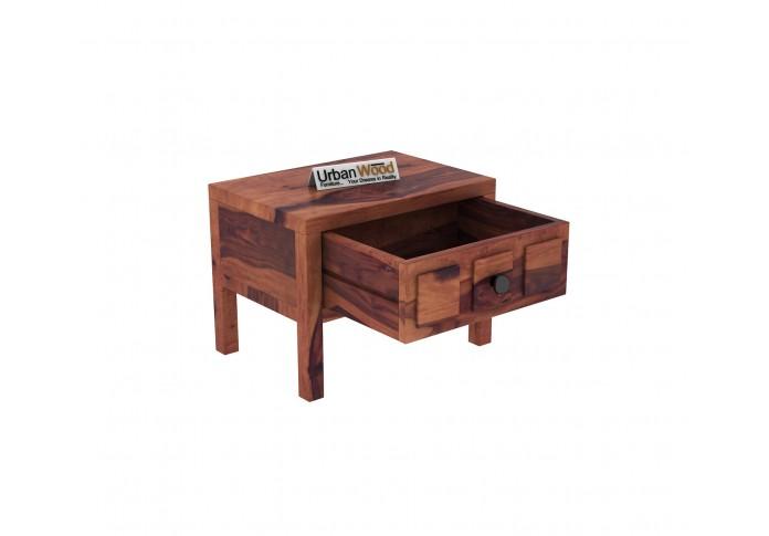 Bedswind Bedside Table ( Teak Finish )