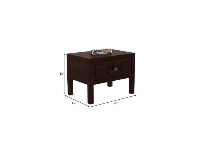 Bedswind Bedside Table ( Walnut Finish )