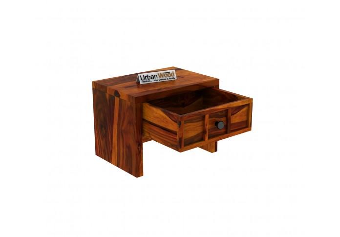Harris Bedside Table <small>( Honey Finish )</small>