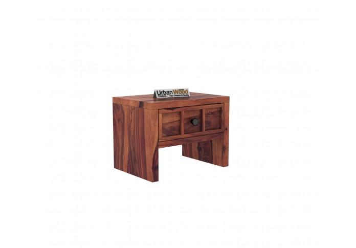 Harris Bedside Table ( Teak Finish )