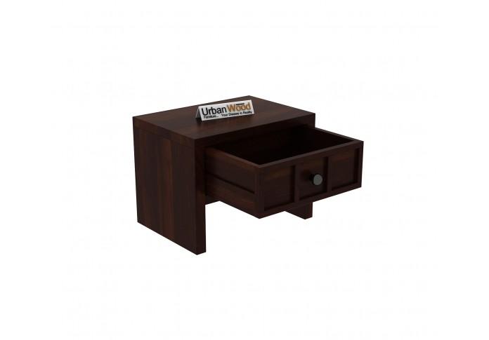 Harris Bedside Table ( Walnut Finish )
