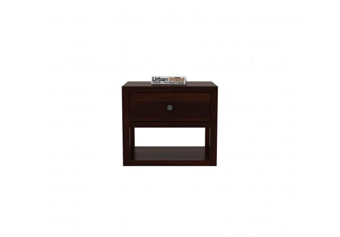 Laverock Bedside Table <small>( Walnut Finish )</small>