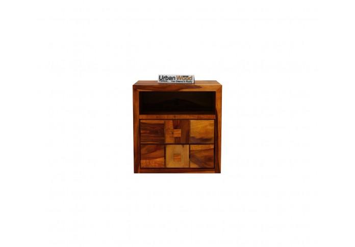 Morgana Bedside Table ( Honey Finish )