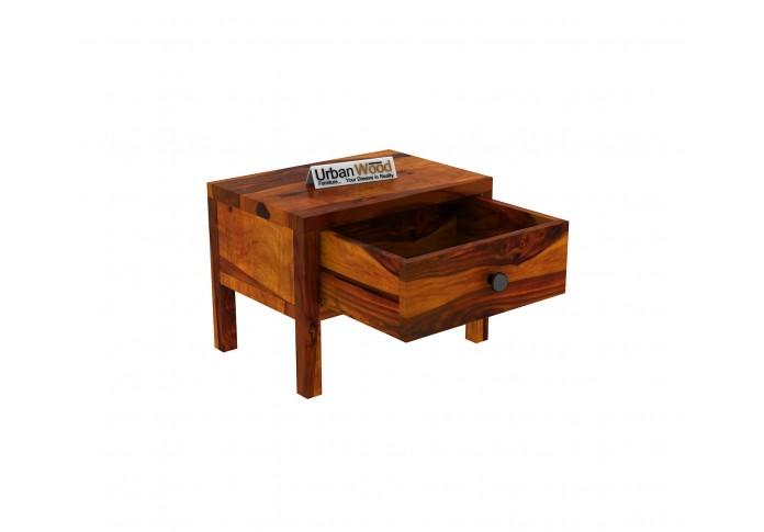 Topaz Bedside Table ( Honey Finish )