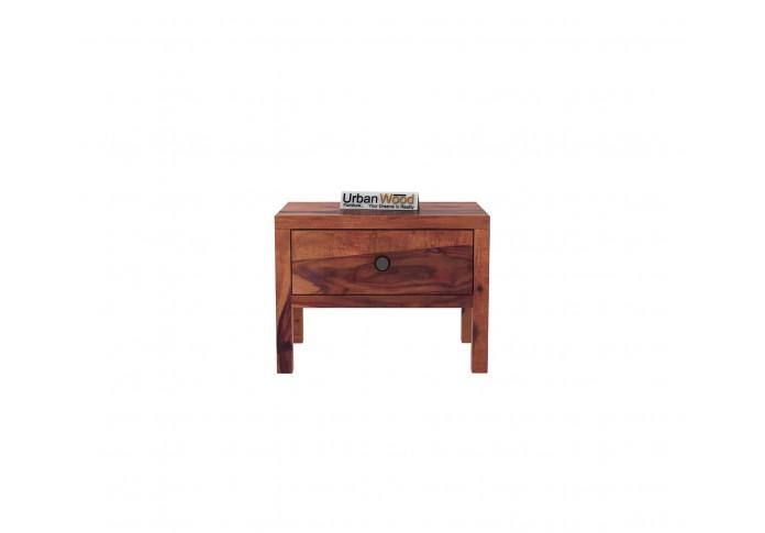 Topaz Bedside Table ( Teak Finish )