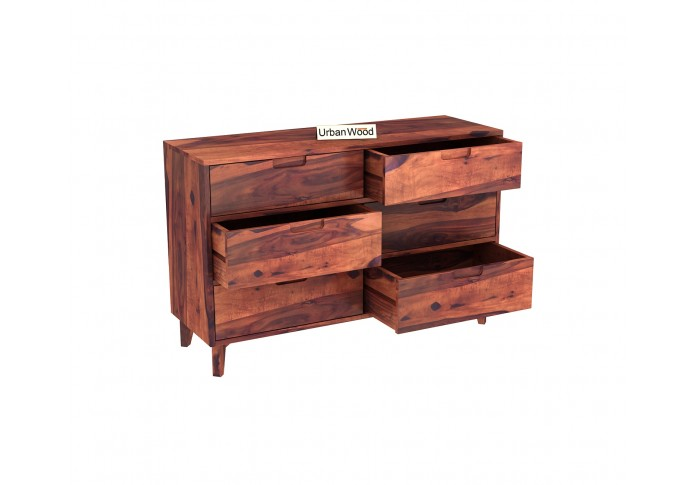 Bella Chest of Drawers <small>( Teak Finish )</small>