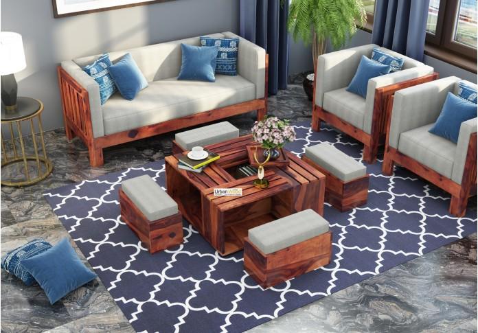 Bliss Coffee Table Sets ( Teak Finish )
