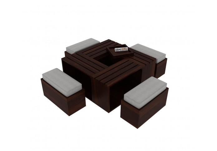 Bliss Coffee Table Sets ( Walnut Finish )