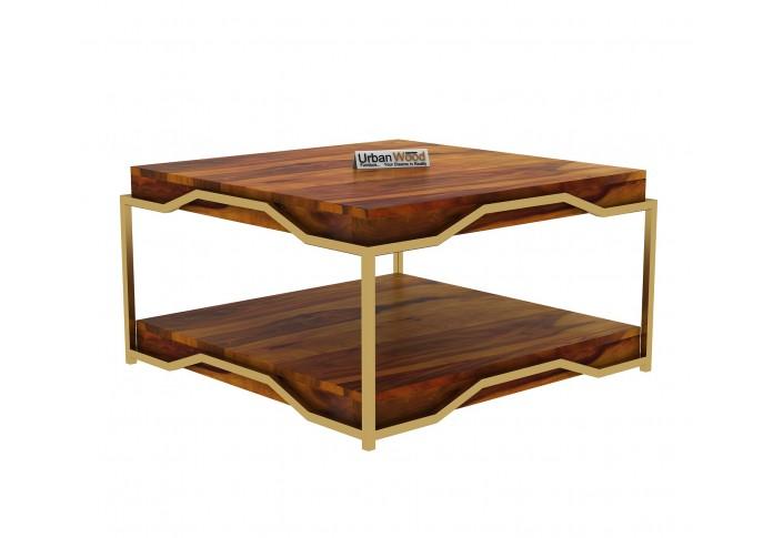 Dub Wooden Coffee Table (Honey Finish)