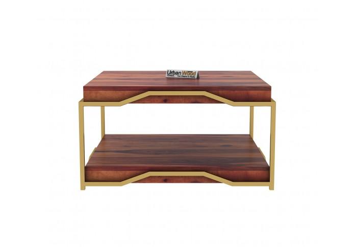 Dub Wooden Coffee Table (Teak Finish)