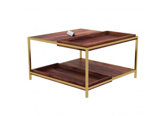 Hope Wooden Coffee Table (Teak Finish)