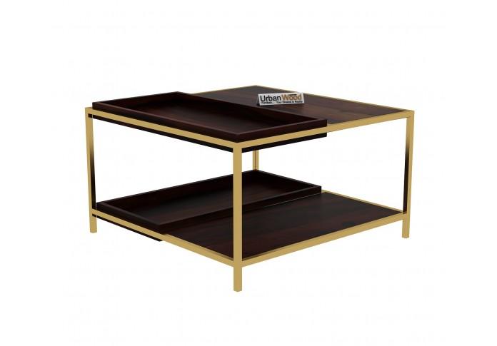 Hope Wooden Coffee Table (Walnut Finish)