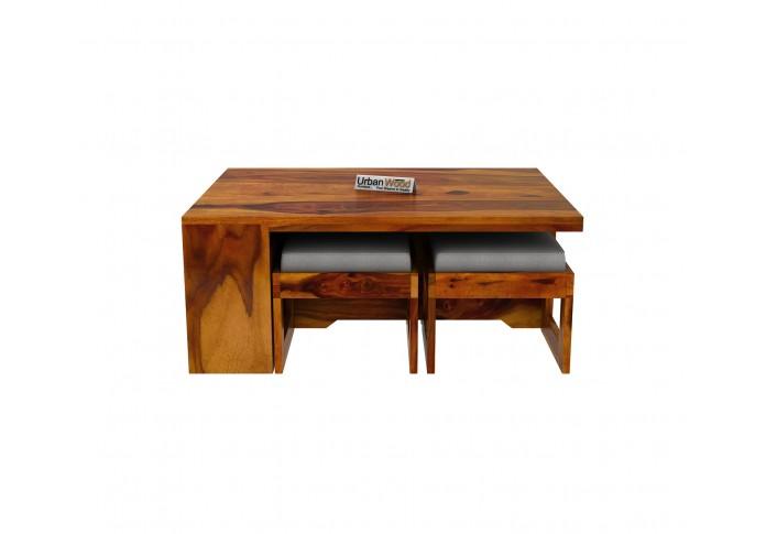 Icon Coffee Table Set (Honey Finish)