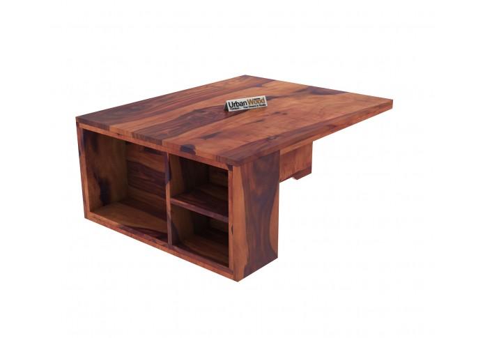 Icon Coffee Table Set (Teak Finish)