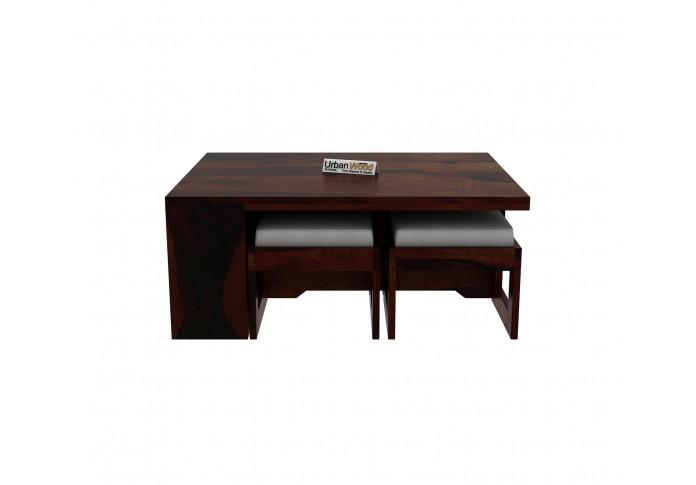 Icon Coffee Table Set (Walnut Finish)