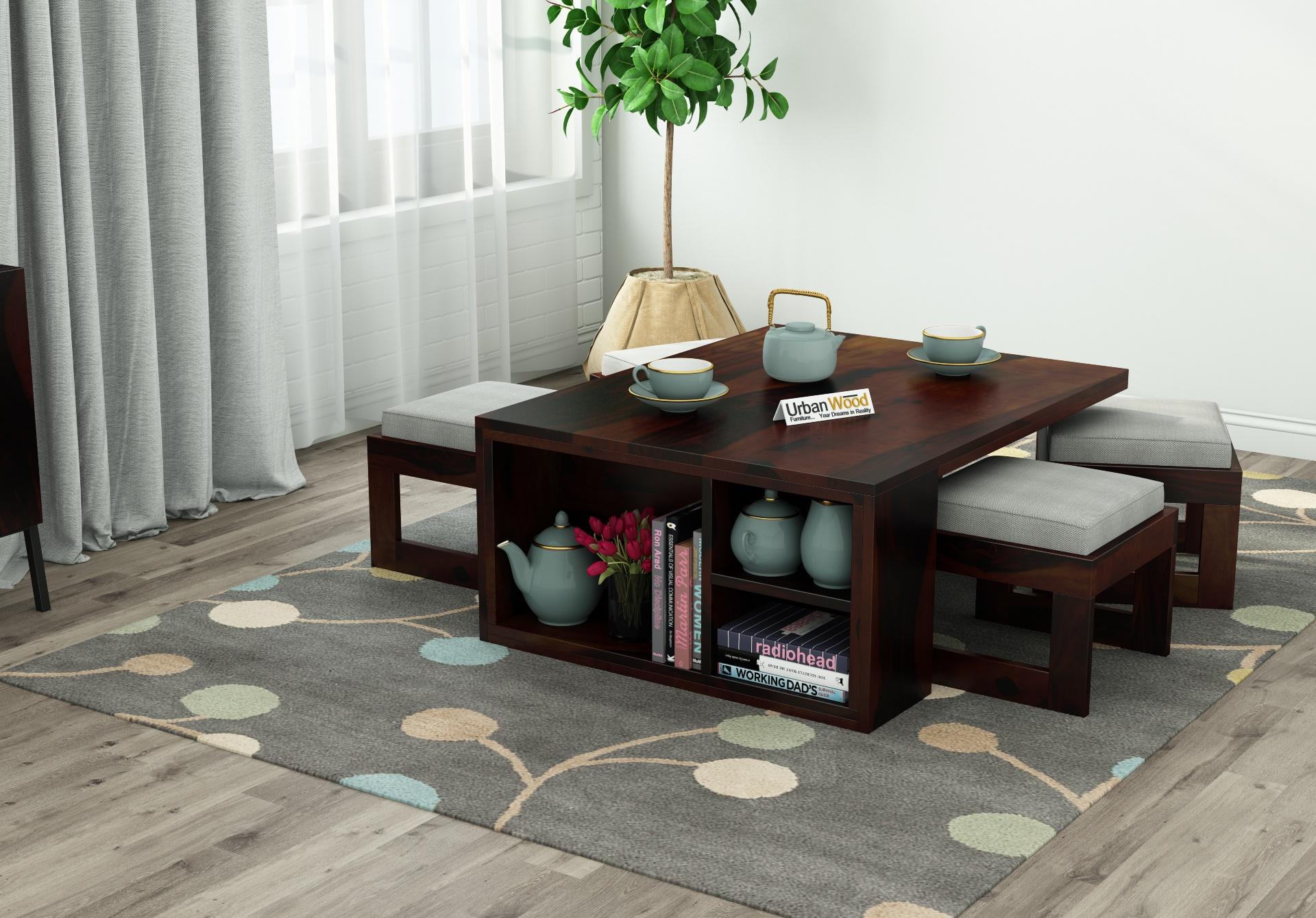 Icon Coffee Table Set <small>(Walnut Finish)</small>