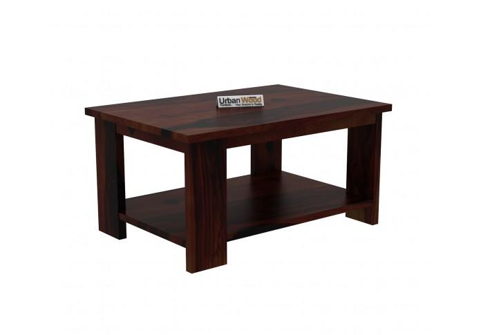 Lebe Wooden Coffee Table (Walnut Finish)